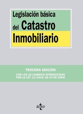 LEGISLACIÓN BÁSICA DEL CATASTRO INMOBILIARIO