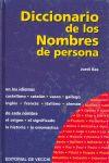 DICCIONARIO DE LOS NOMBRES DE PERSONA