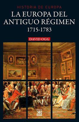 LA EUROPA DEL ANTIGUO RÉGIMEN 1715- 1783