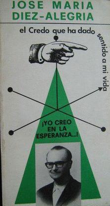 ¡YO CREO EN LA ESPERANZA!