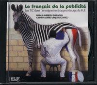 LE FRANCAIS DE LA PUBLICITÉ  (EN CD).