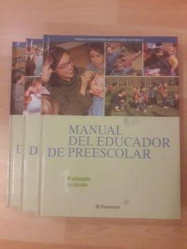 MANUAL DEL EDUCADOR DE PREESCOLAR