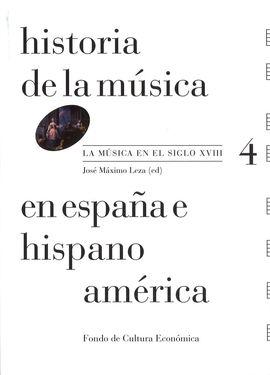 HISTORIA DE LA MÚSICA EN ESPAÑA E HISPANOAMÉRICA. LA MÚSICA EN EL SIGLO XVIII (V