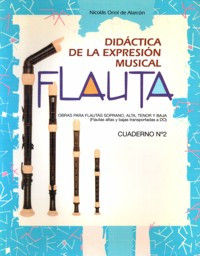 FLAUTA DIDÁCTICA DE LA EXPRESIÓN MUSICAL (CUADERNO Nº 2)