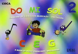 DO MI SOL 3:CUADERNO EJERCICIOS MUSICALES