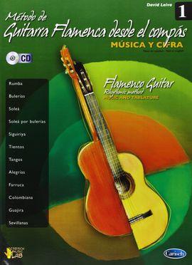 METODO DE GUITARRA FLAMENCA DESDE EL COMPAS  MUSICA Y CIFRA 1