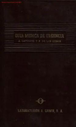 GUÍA MÉDICA DE URGENCIA