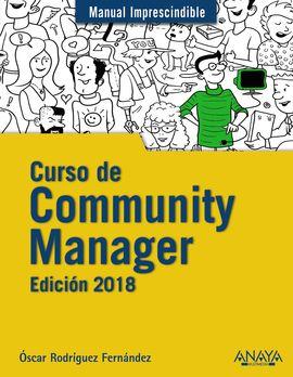 CURSO DE COMMUNITY MANAGER. EDICIÓN 2018