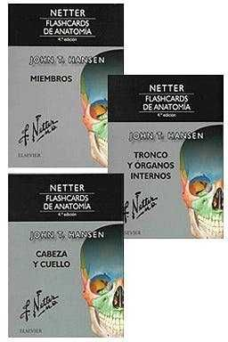 PACK NETTER FLASHCARDS DE ANATOMIA