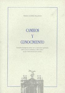 CAMBIOS Y CONOCIMIENTO