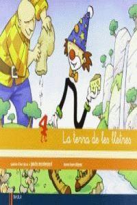 QUADERN D'ESCRIPTURA 4 INFANTIL LA TERRA DE LES LLETRES