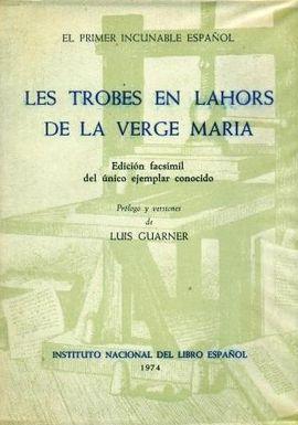 TROBES EN LAHORS DE LA VERGE MARIA, LES