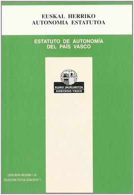 ESTATUTO DE AUTONOMÍA - EUSKAL HERRIKO AUTONOMIA ESTATUTOA
