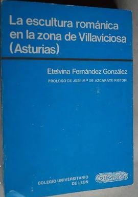 ESCULTURA ROMÁNICA EN LA ZONA DE VILLAVICIOSA (ASTURIAS), LA