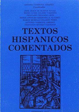 TEXTOS HISPÁNICOS COMENTADOS