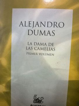 DAMA DE LAS CAMELIAS VOL-1