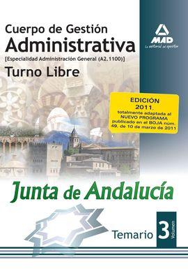 3. TEMARIO GESTION ADMINISTRATIVA A21100 JUNTA ANDALUCIA