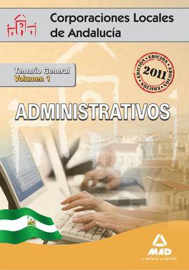 VOL 1 ADMINISTRATIVOS CCPP  JUNTA ANDALUCIA 2011