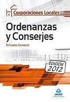 ORDENANZAS Y CONSERJES, CORPORACIONES LOCALES. TEMARIO GENERAL