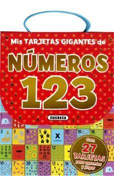 MIS TARJETAS GIGANTES DE NÚMEROS 123