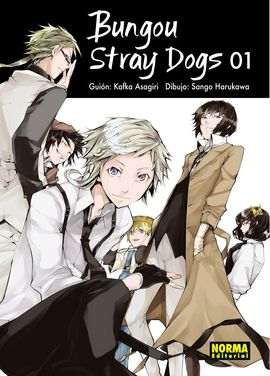 BONGOU STRAY DOGS 01