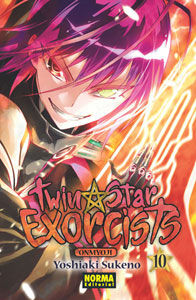 TWIN STAR EXORCISTS: ONMYOUJI 10