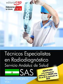 TÉCNICOS ESPECIALISTAS EN RADIODIAGNÓSTICO. SERVICIO ANDALUZ DE SALUD (SAS). TEM