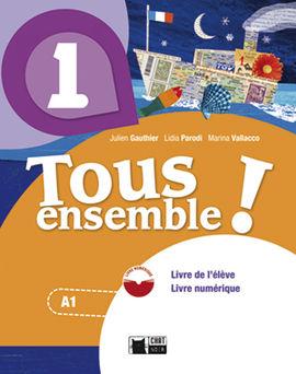 TOUS ENSEMBLE 1 LIVRE ANDALUCIA + DVD-ROM