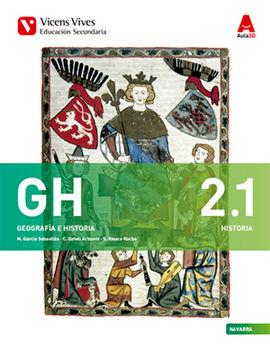 GH 2 NAVARRA (HISTORIA/GEOGRAFIA)+SEP AULA 3D