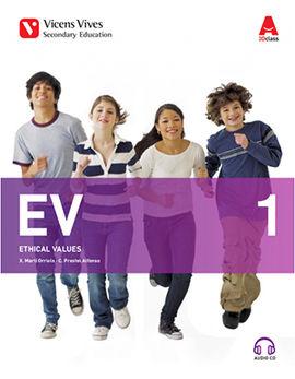EV 1+CD (ETHICAL VALUES 3D CLASS)