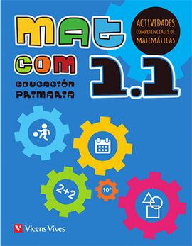 MAT COM 1 (1.1-1.2-1.3) ACTIVIDADES COMPETENCIALES