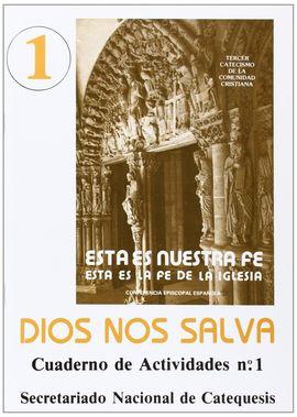 DIOS NOS SALVA. CUADERNO DE ACTIVIDADES 1