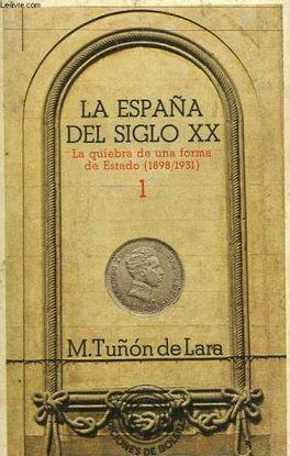 ESPAÑA S.XX - 1