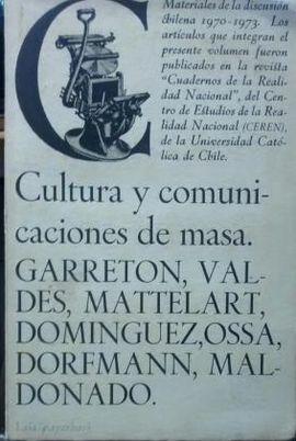 CULTURA Y COMUNICACIONES DE MASAS