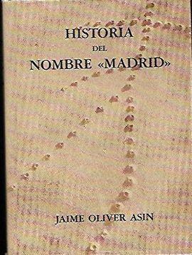 HISTORIA DEL NOMBRE