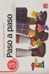 PASO A PASO, EDUCACIÓN INFANTIL, 3 AÑOS. ACCIÓN TUTORIAL
