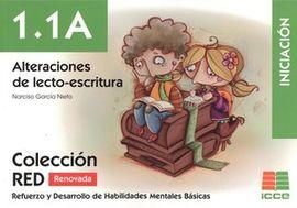 RED 1.1.A RENOVADO. ALTERACIONES DE LENTO-ESCRITURA