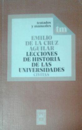 LECCIONES DE HISTORIA DE LAS UNIVERSIDADES