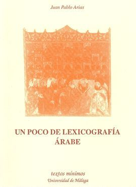 UN POCO DE LEXICOGRAFÍA ÁRABE