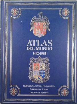 ATLAS DEL MUNDO 1492-1992