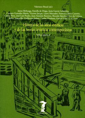 HISTORIA DE LAS IDEAS ESTÉTICAS Y DE LAS TEORÍAS ARTÍSTICAS CONTEMPORÁNEAS