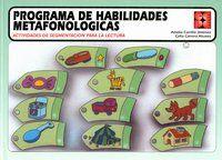 PROGRAMA DE HABILIDADES METAFONOLOGICAS