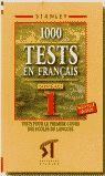 TESTS EN FRANÇAIS NIVEAU 1