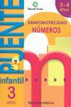 CUADERNO NÚMEROS 3 AÑOS-PUENTE INFANTIL