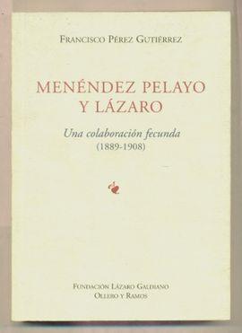 MENÉNDEZ PELAYO Y LÁZARO