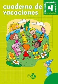 CUADERNO DE VACACIONES 4 AÑOS
