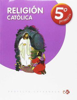 RELIGION CATOLICA 5º PRIMARIA