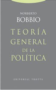TEORÍA GENERAL DE LA POLÍTICA