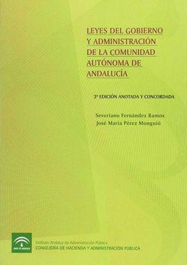 LEYES DEL GOBIERNO ADMINISTRACION COMUNIDAD AUTONOMA 3ª