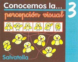 CONOCEMOS PERCEPCIÓN VISUAL 3